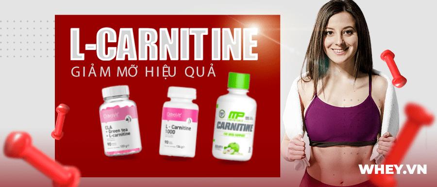 L-Carnitine là amino axit đóng vai trò chuyển hóa mỡ thừa lành tính. Sản phẩm L-Carnitine chính hãng, uy tín, giá rẻ tại Hà Nội TpHCM
