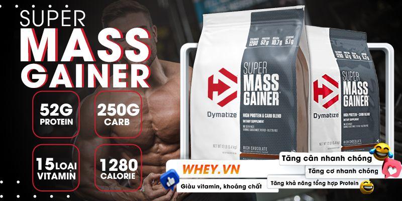 Sữa Tăng Cân Mass Gainer là sản phẩm sữa tăng cân cho người lớn, sữa tăng cân cho người gầy tập gym trên 18 tuổi hiệu quả, an toàn, bền vững