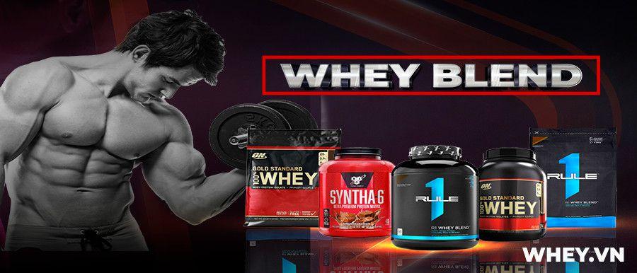 Whey Protein Blend là sản phẩm whey tăng cơ giá rẻ, hiệu quả. Whey Protein Blend nhập khẩu chính hãng, cam kết giá rẻ nhất tại Hà Nội TpHCM