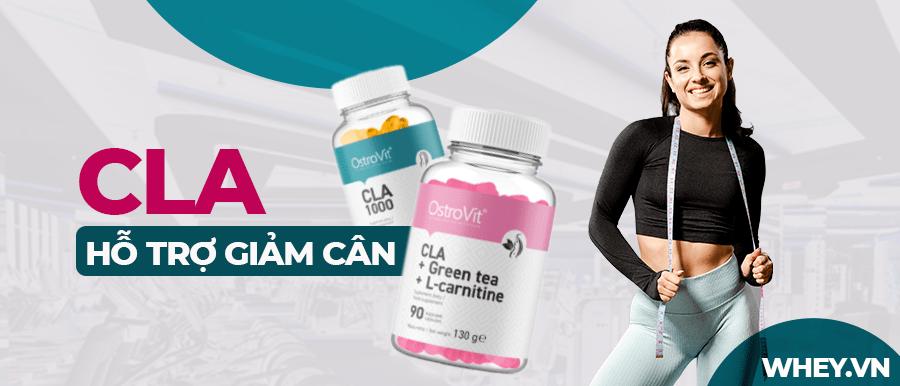 CLA là axit béo Omega-3 tốt cho sức khỏe, hỗ trợ chuyển hóa mỡ thành năng lượng tự nhiên, an toàn. Sản phẩm CLA chính hãng giá rẻ tại Hà Nội TpHCM